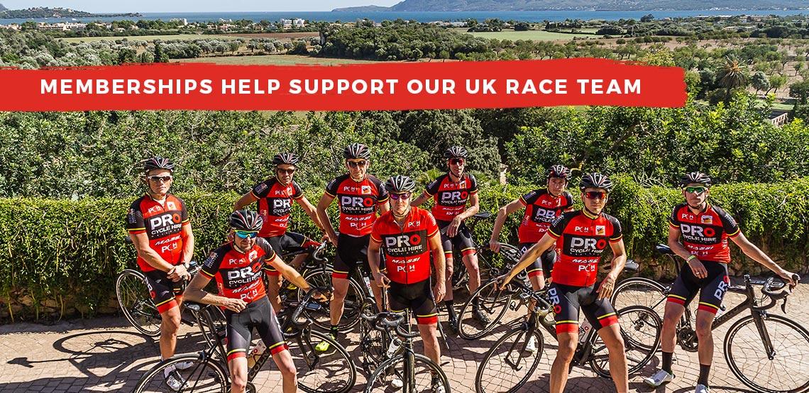 VIP Membership Program - Pro Cycle Hire :: Bike Hire Mallorca